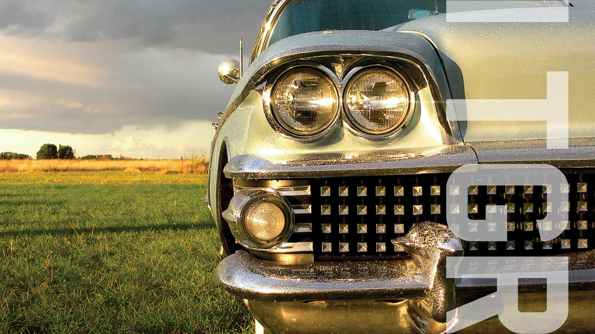 DVLA Auction website cover image showing the front of a car in field