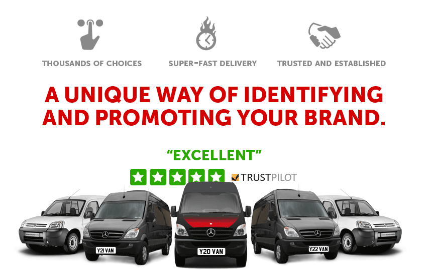 Private Number Plates for Businesses