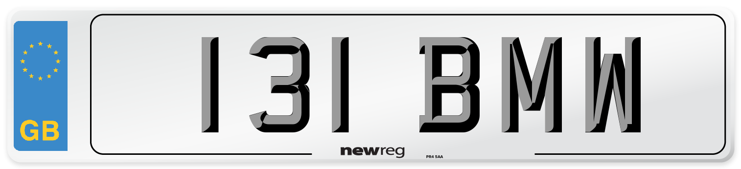 131 BMW Number Plate from New Reg