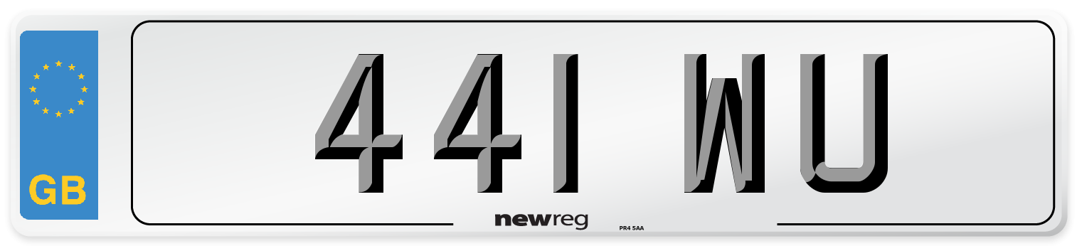 441 WU Number Plate from New Reg