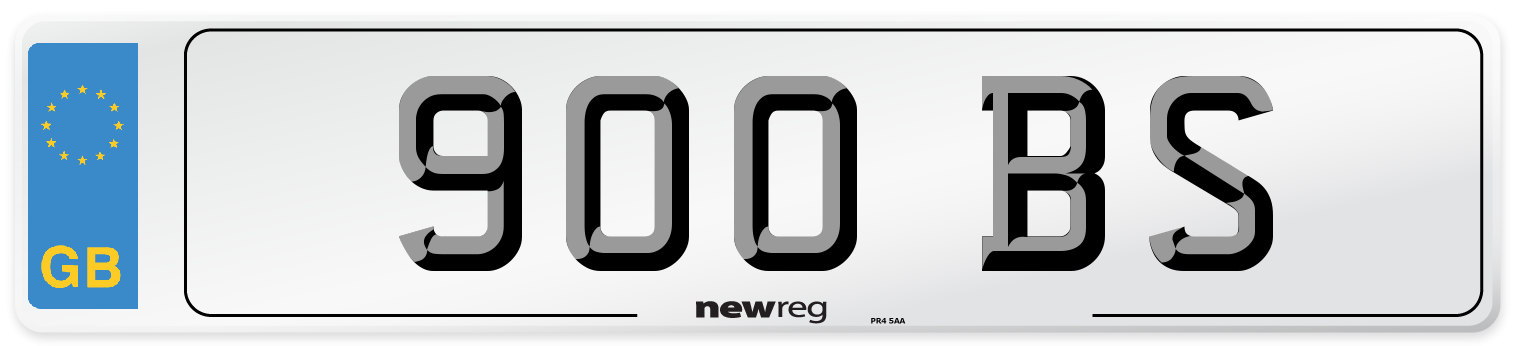900 BS Number Plate from New Reg