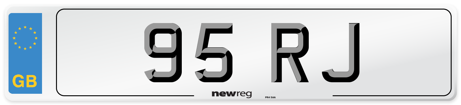 95 RJ Number Plate from New Reg