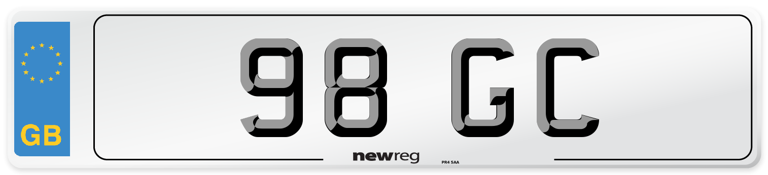 98 GC Number Plate from New Reg