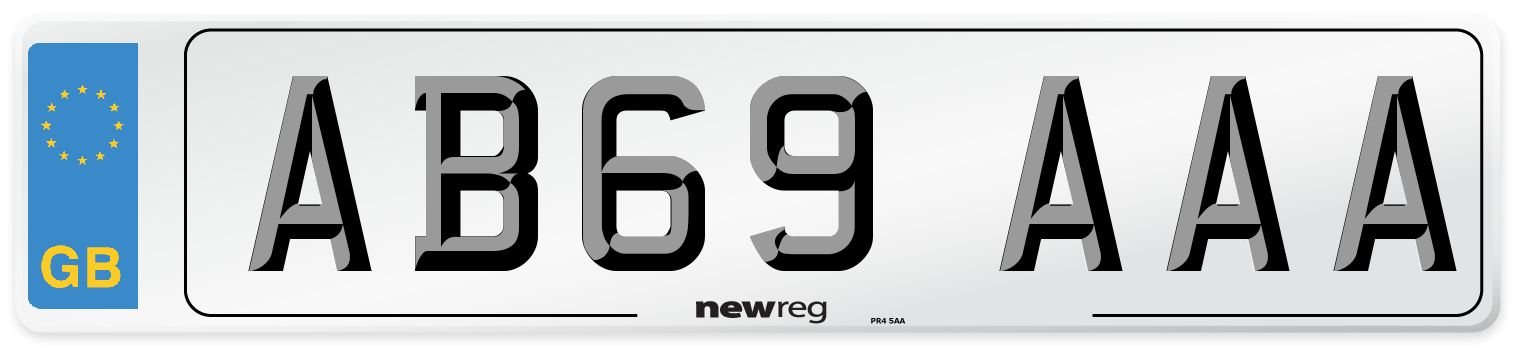 AB69 AAA Number Plate from New Reg