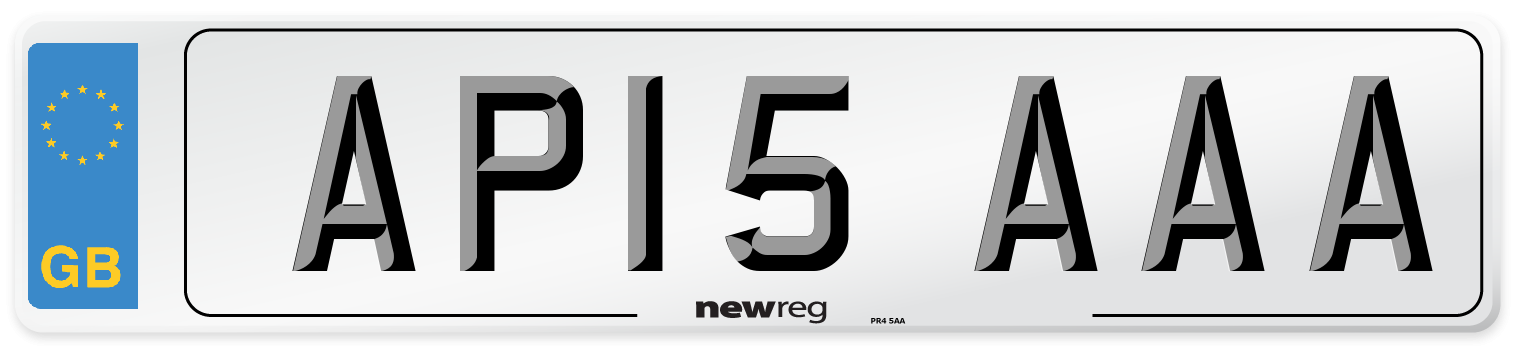 AP15 AAA Number Plate from New Reg