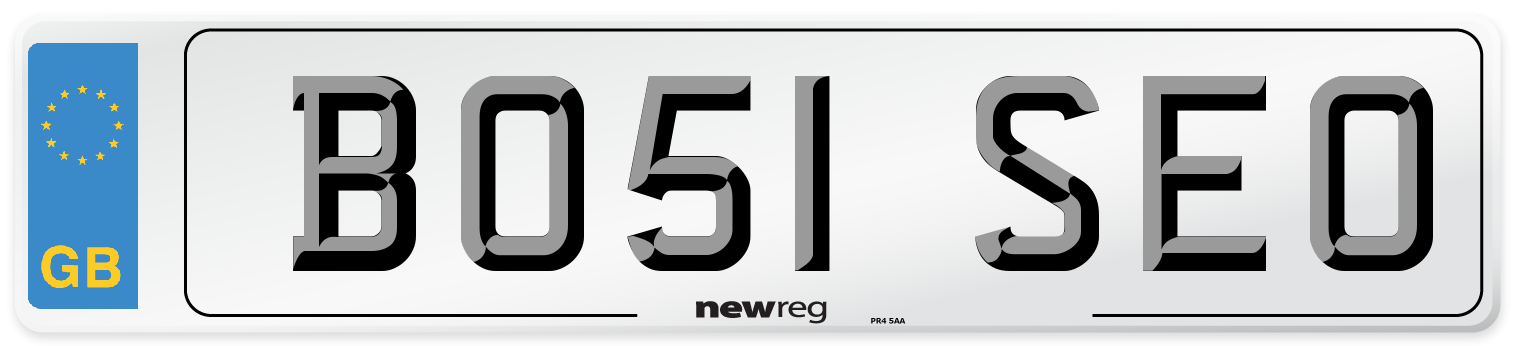 BO51 SEO Number Plate from New Reg