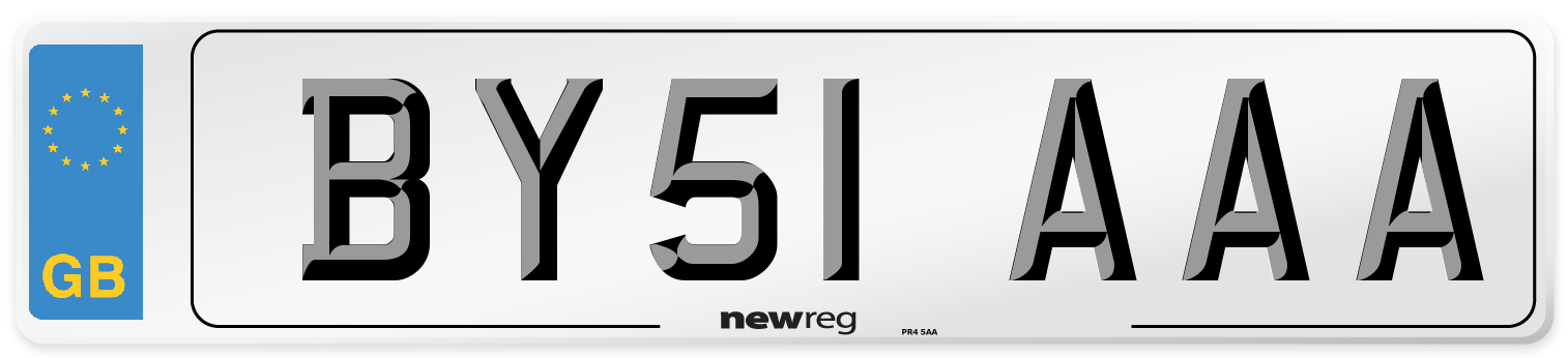 BY51 AAA Number Plate from New Reg