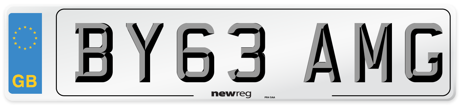 BY63 AMG Number Plate from New Reg