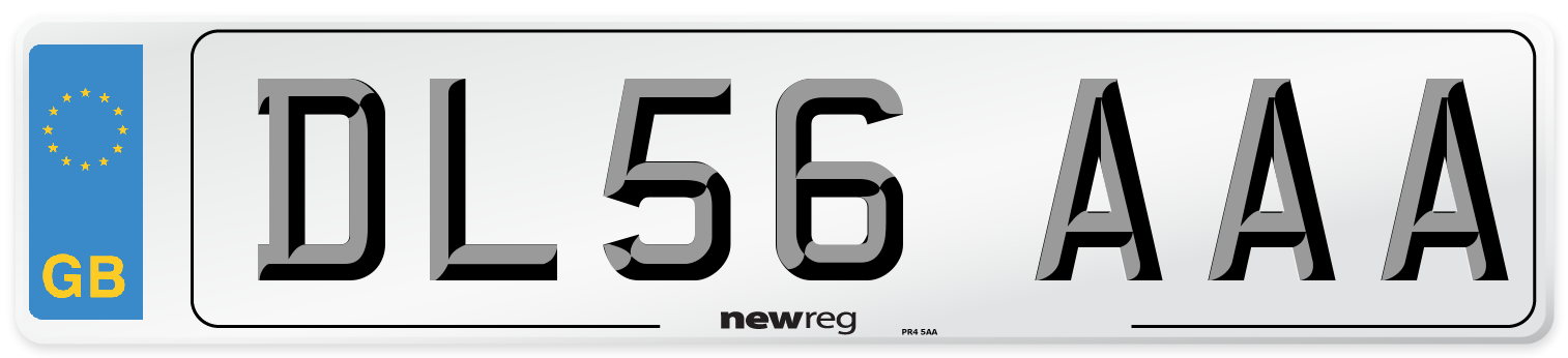 DL56 AAA Number Plate from New Reg