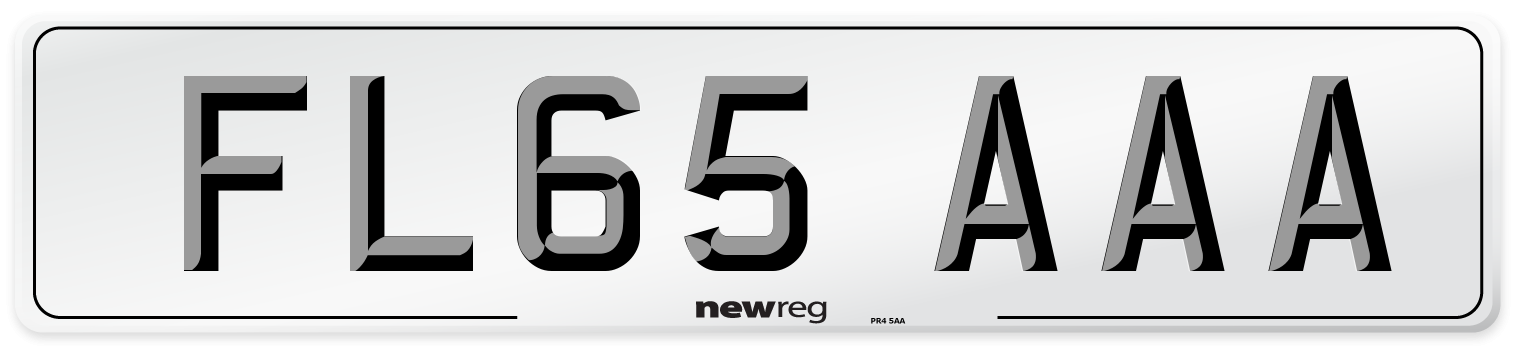 FL65 AAA Number Plate from New Reg