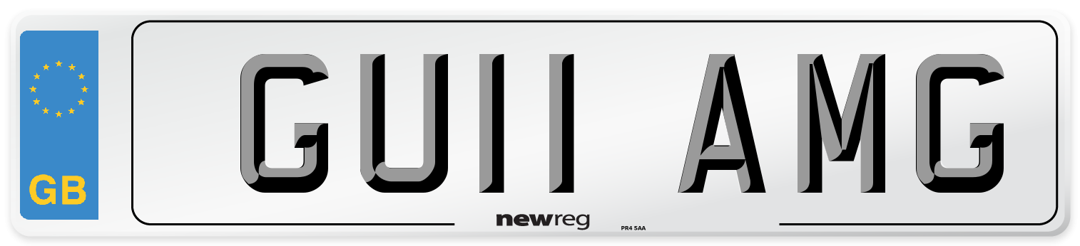 GU11 AMG Number Plate from New Reg