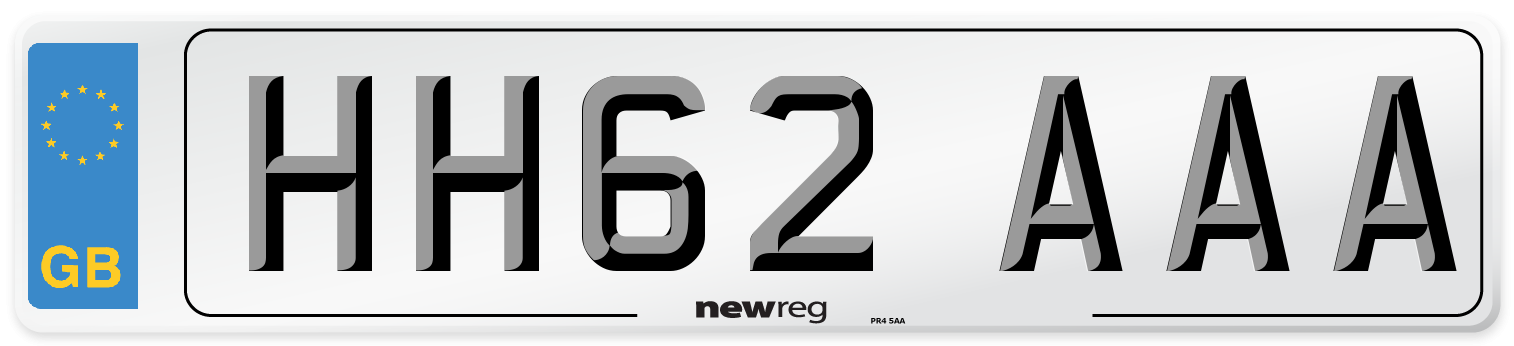HH62 AAA Number Plate from New Reg