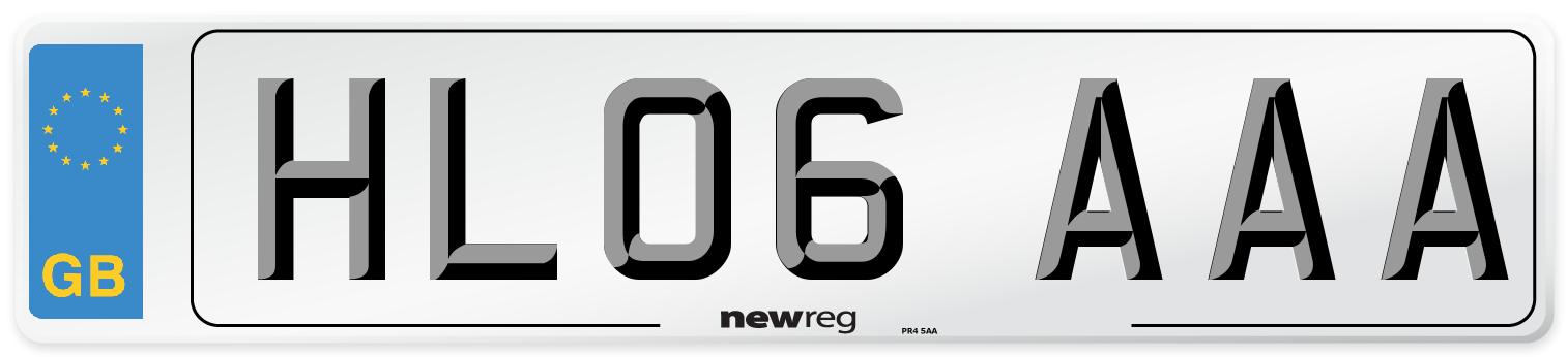 HL06 AAA Number Plate from New Reg
