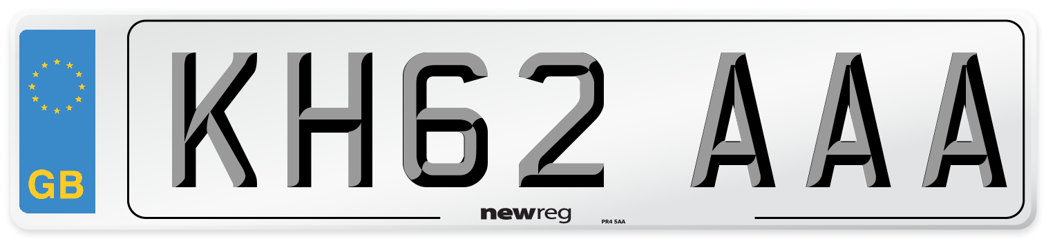 KH62 AAA Number Plate from New Reg