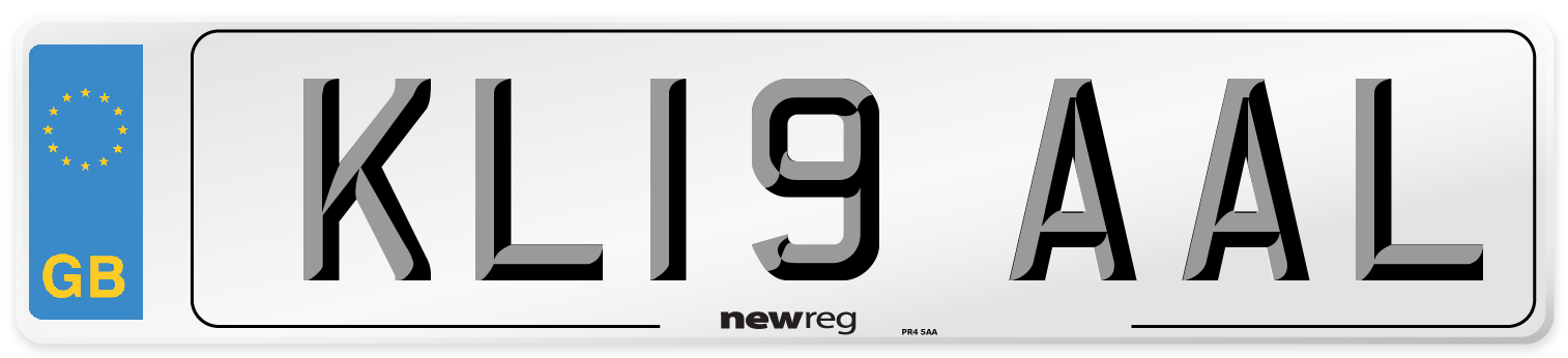 KL19 AAL Number Plate from New Reg