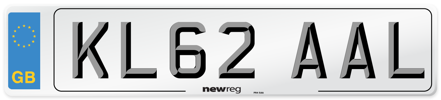 KL62 AAL Number Plate from New Reg