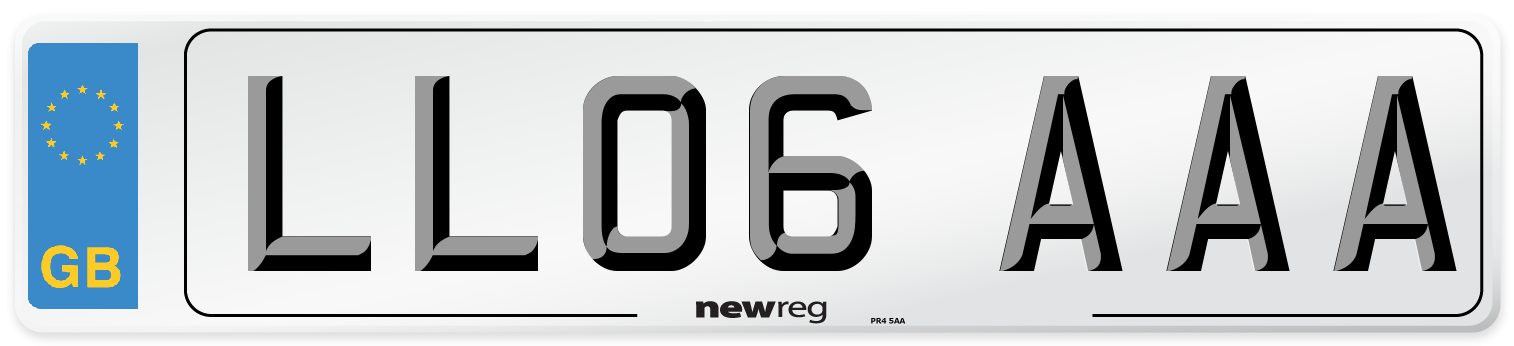 LL06 AAA Number Plate from New Reg
