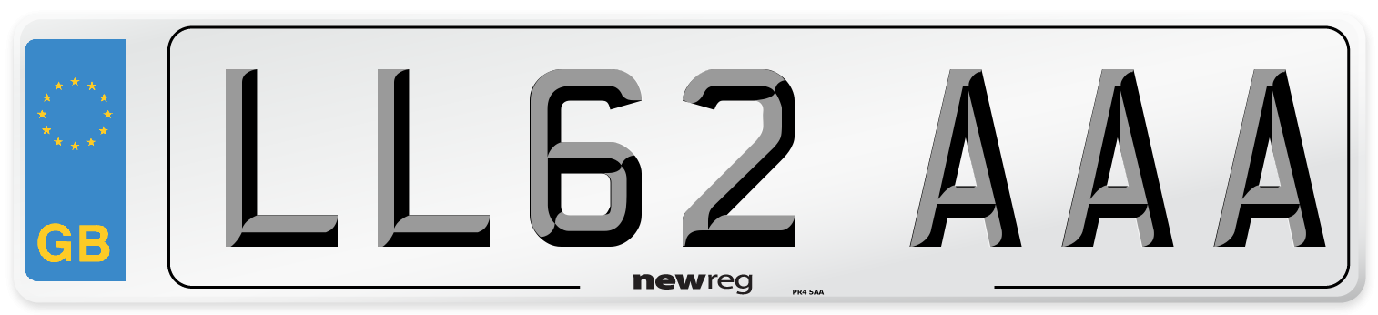 LL62 AAA Number Plate from New Reg