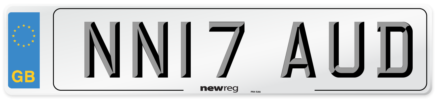 NN17 AUD Number Plate from New Reg