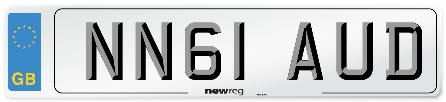NN61 AUD Number Plate from New Reg