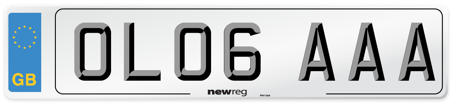 OL06 AAA Number Plate from New Reg