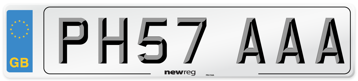 PH57 AAA Number Plate from New Reg