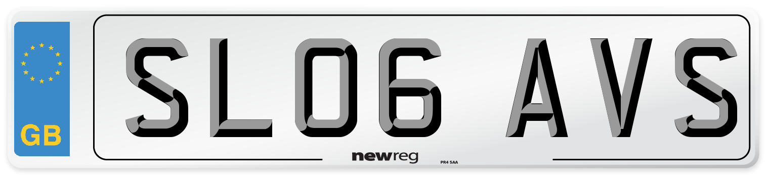 SL06 AVS Number Plate from New Reg