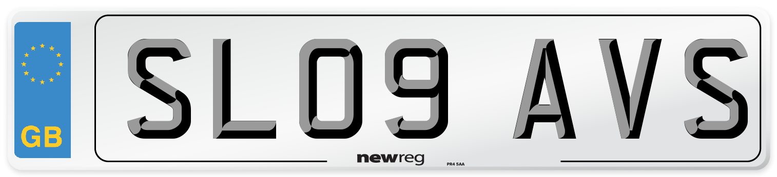 SL09 AVS Number Plate from New Reg