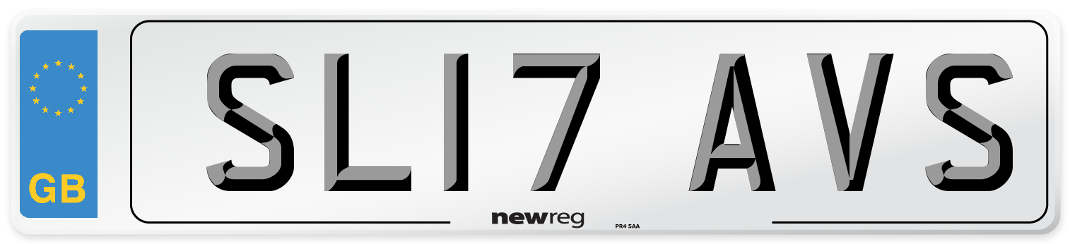 SL17 AVS Number Plate from New Reg