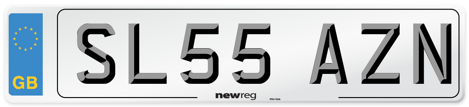 SL55 AZN Number Plate from New Reg
