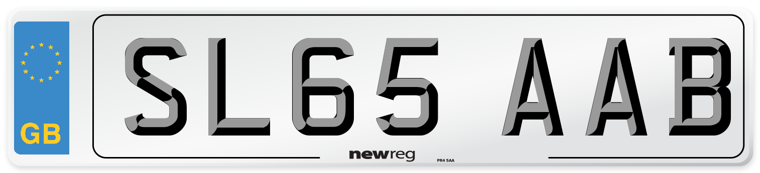 SL65 AAB Number Plate from New Reg