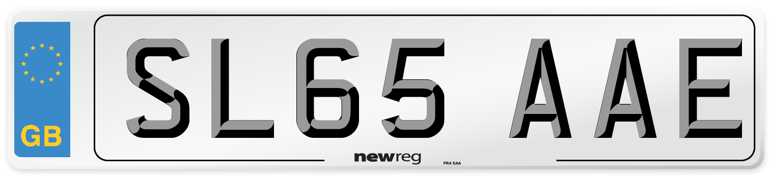 SL65 AAE Number Plate from New Reg