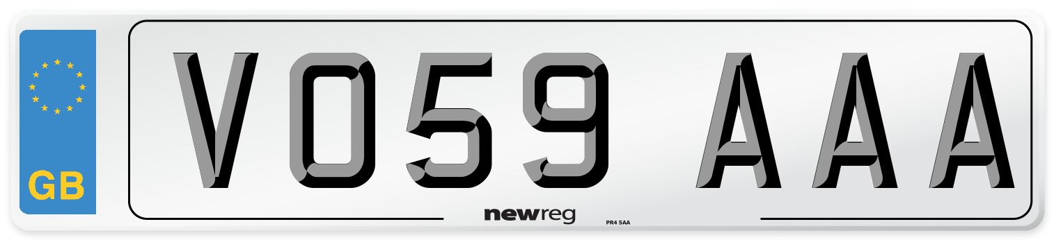 VO59 AAA Number Plate from New Reg