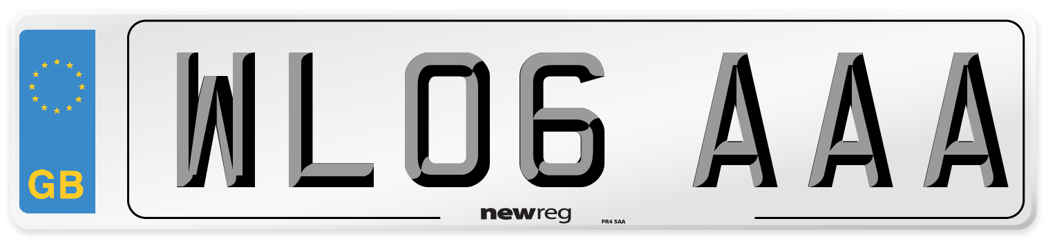 WL06 AAA Number Plate from New Reg