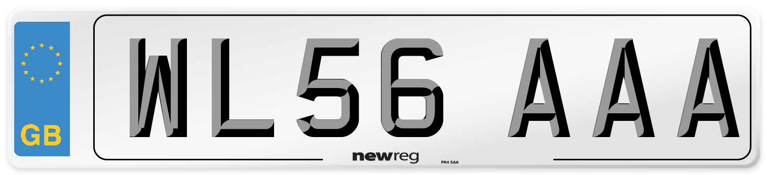 WL56 AAA Number Plate from New Reg