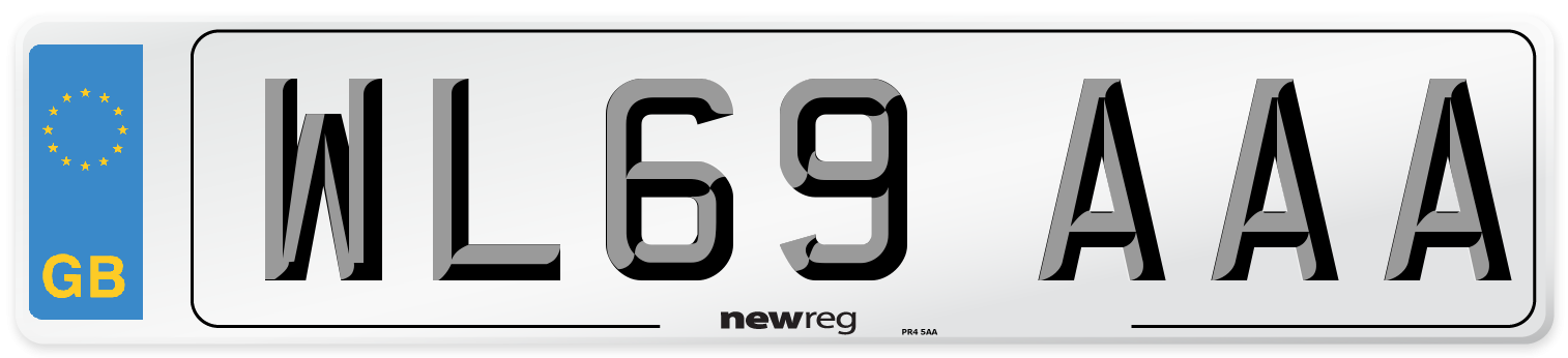 WL69 AAA Number Plate from New Reg