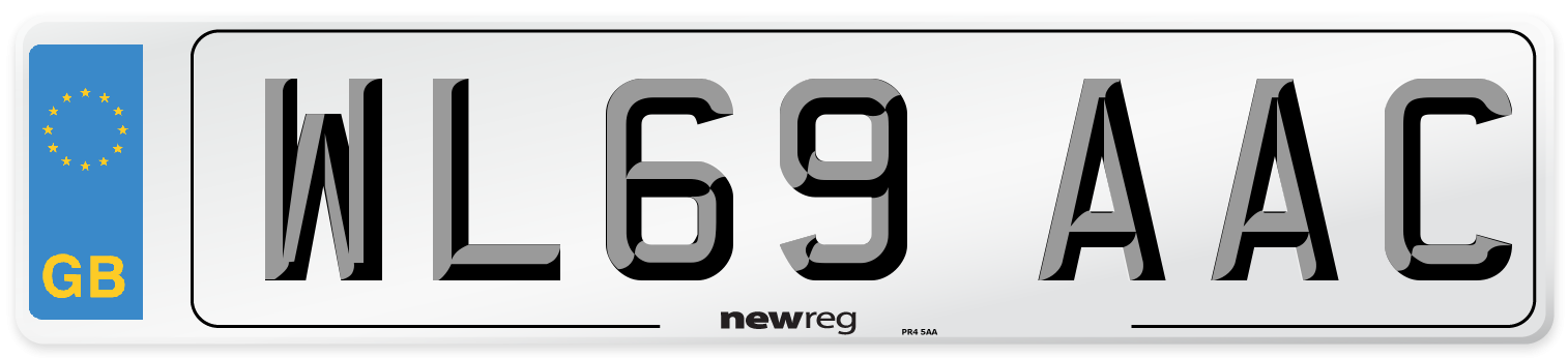 WL69 AAC Number Plate from New Reg