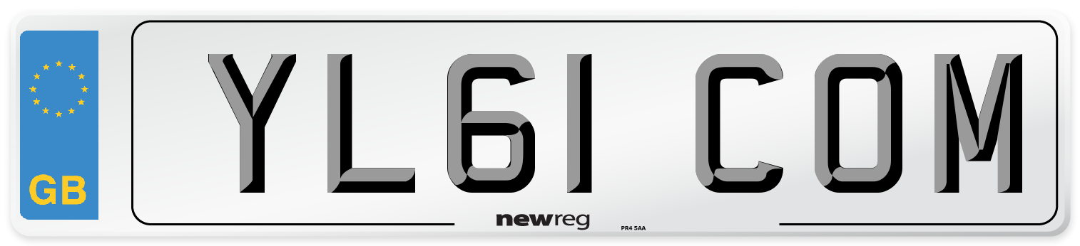 YL61 COM Number Plate from New Reg