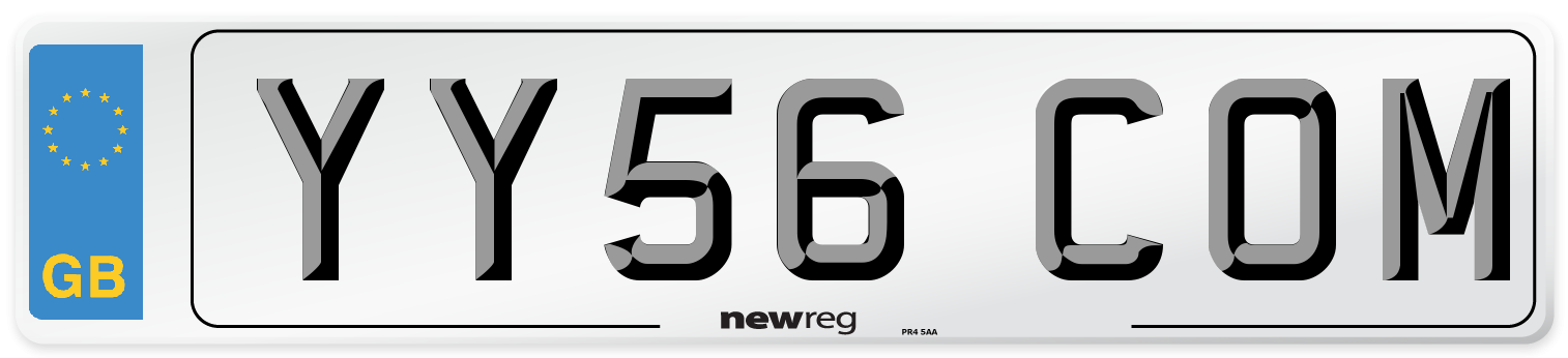 YY56 COM Number Plate from New Reg